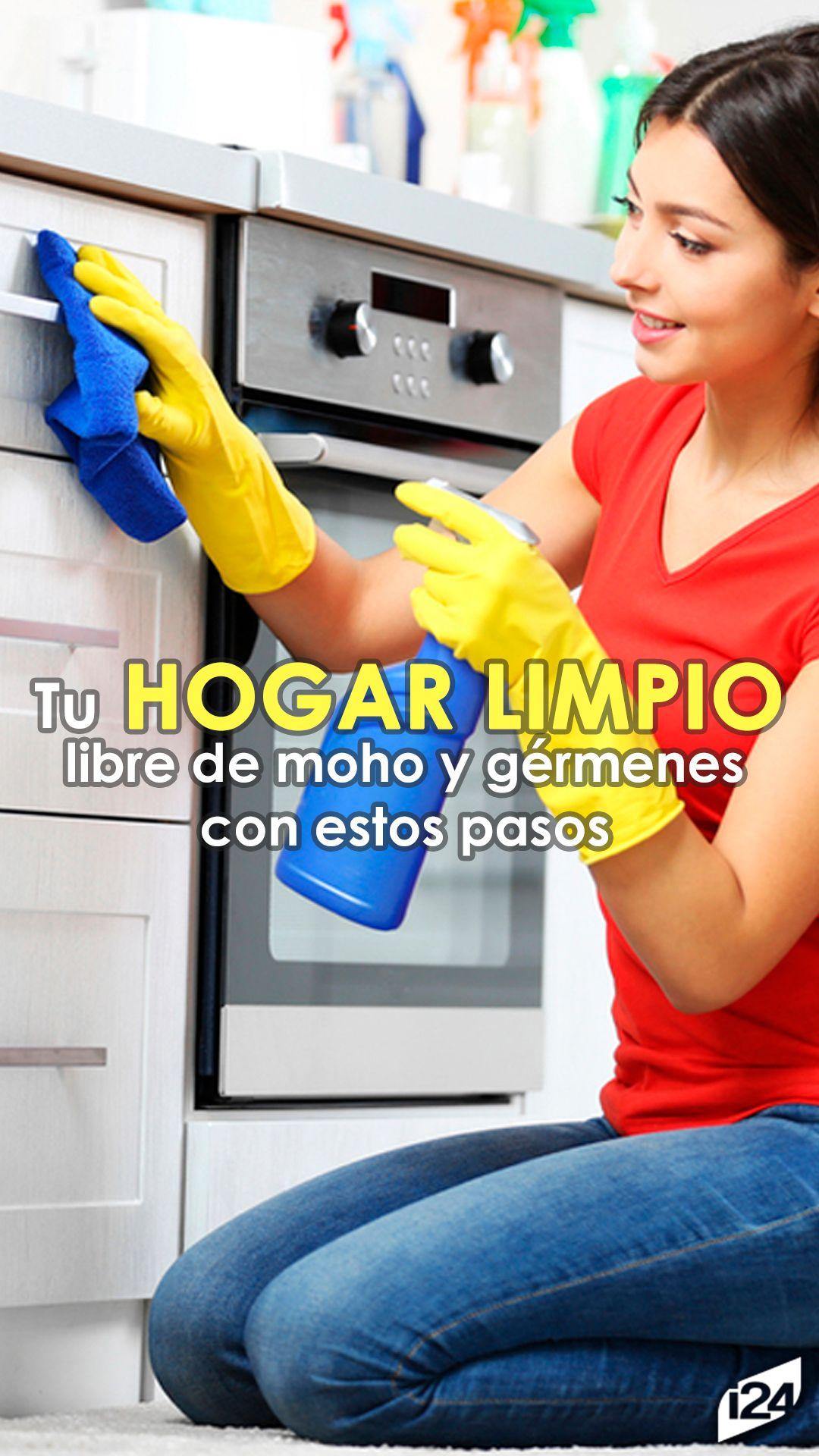 como eliminar los germenes de la casa