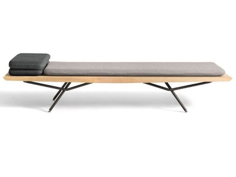 Iroko Day Bed San Collection By MANUTTI Design Lionel Doyen