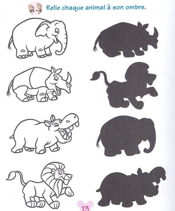 Top zoo activités maternelle | ai trouvé la fiche sur le livre d  RO44