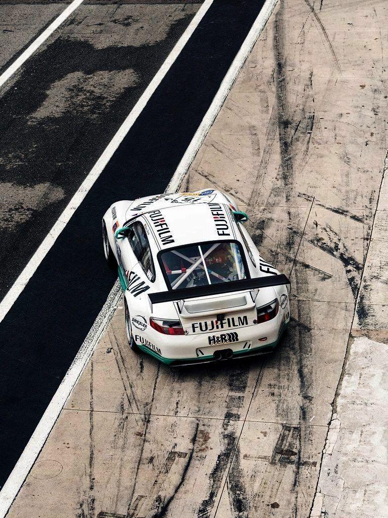 """GT3 Racecar in Monza""""<p c... -GT3 RSR""""Porsche 996 GT3 Racecar in Monza""""<p c... -  Porsche h"""