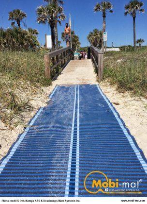 Mobi Mat Beach Access Mat Beach Wheelchair Accessories Access