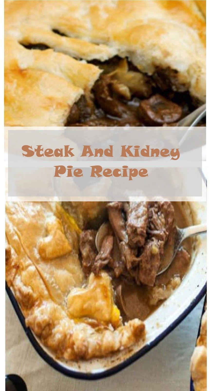 Steak And Kidney Pie Recipe   Steak and kidney pie ...