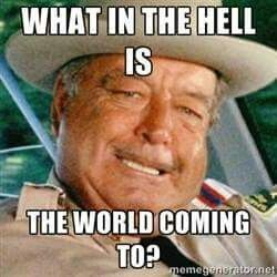 Sheriff Buford T Justice Jackie Gleason Smokey And The Bandit