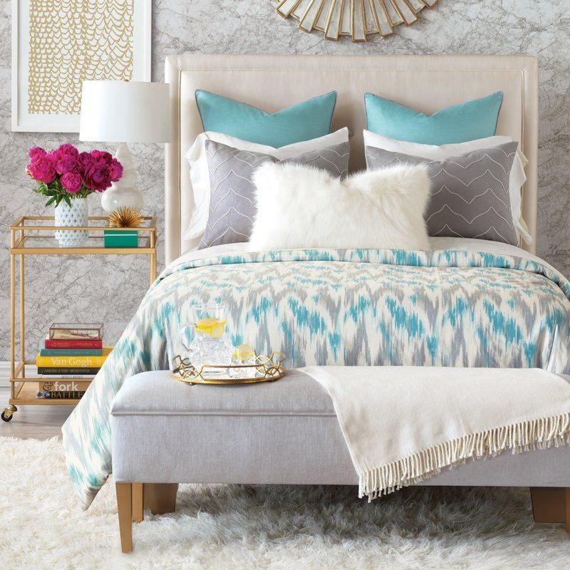 Eloise Reversible Duvet Cover Set Bed linens luxury