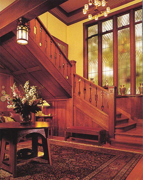 Arts And Crafts Movement Interiors Arts Crafts Restoration