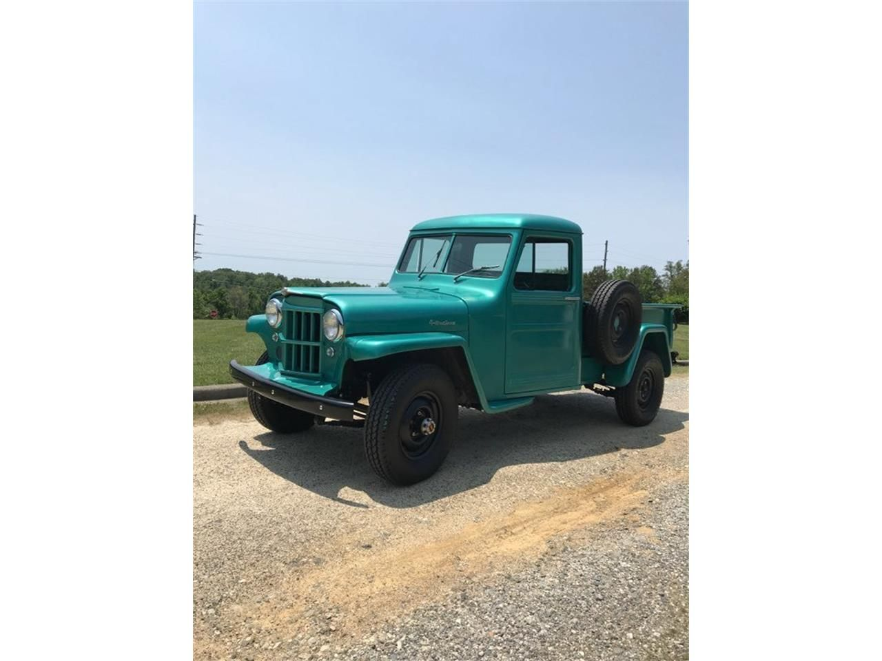 Spruce Tip Green 1959 Willys Jeep For Sale Located In Greensboro