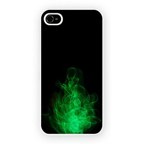Fire Green iPhone 4/4S and iPhone 5 Cases