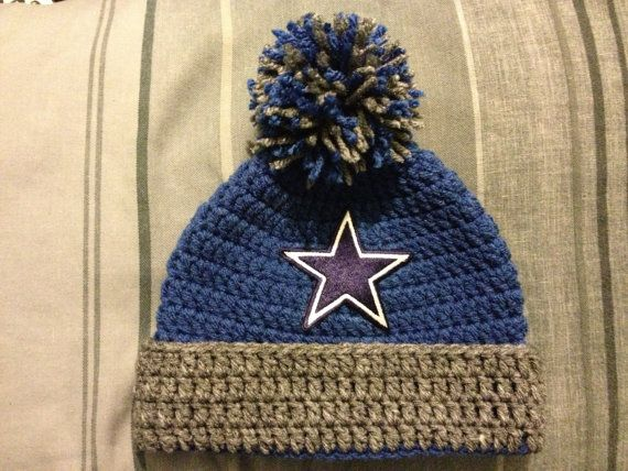 NFL Dallas Cowboys Beanie by astitchintime36 on Etsy, $15.00