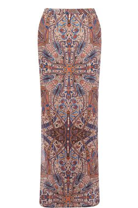 This paisley maxi skirt is constructed out of lightweight fabric and features an ethnic print throughout. This column style skirt features a high waist design with an exposed zip fastening at the back and slits at the side seams. Team with a boyfriend tee for the ultimate go between cool-casual style. Read more at http://www.warehouse.co.uk/paisley%20maxi%20skirt/clothing/Warehouse/fcp-product/4443052399#FM9eu3tIVJhE4CBh.99