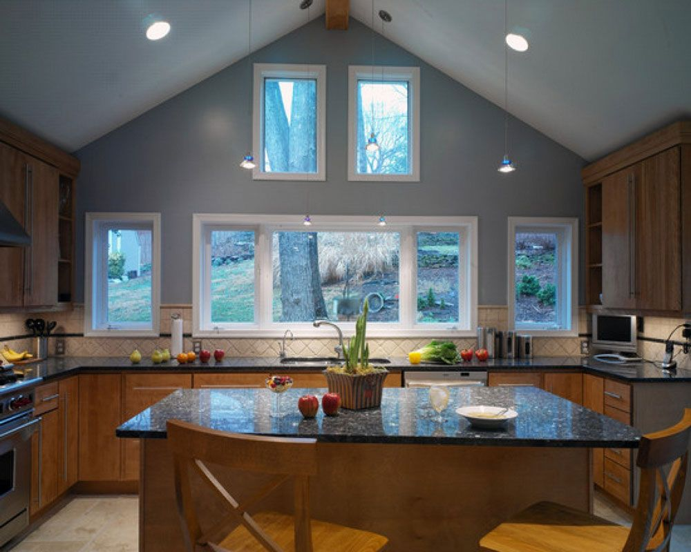 Ceiling inch sloped recessed lighting juno ic vaulted ceiling