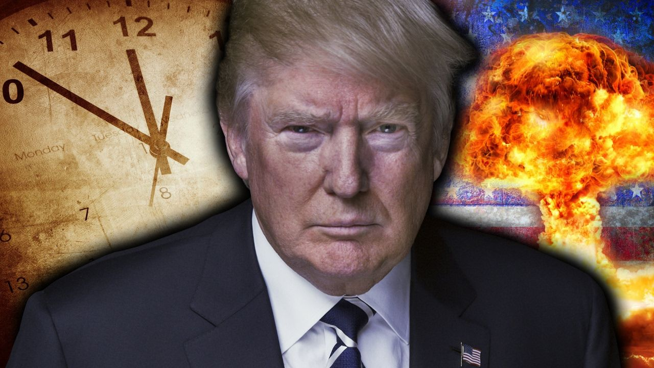 Wohnzimmer Donald Trump Doomsday Clock Donald Trump Ww3 End Time Prophecy