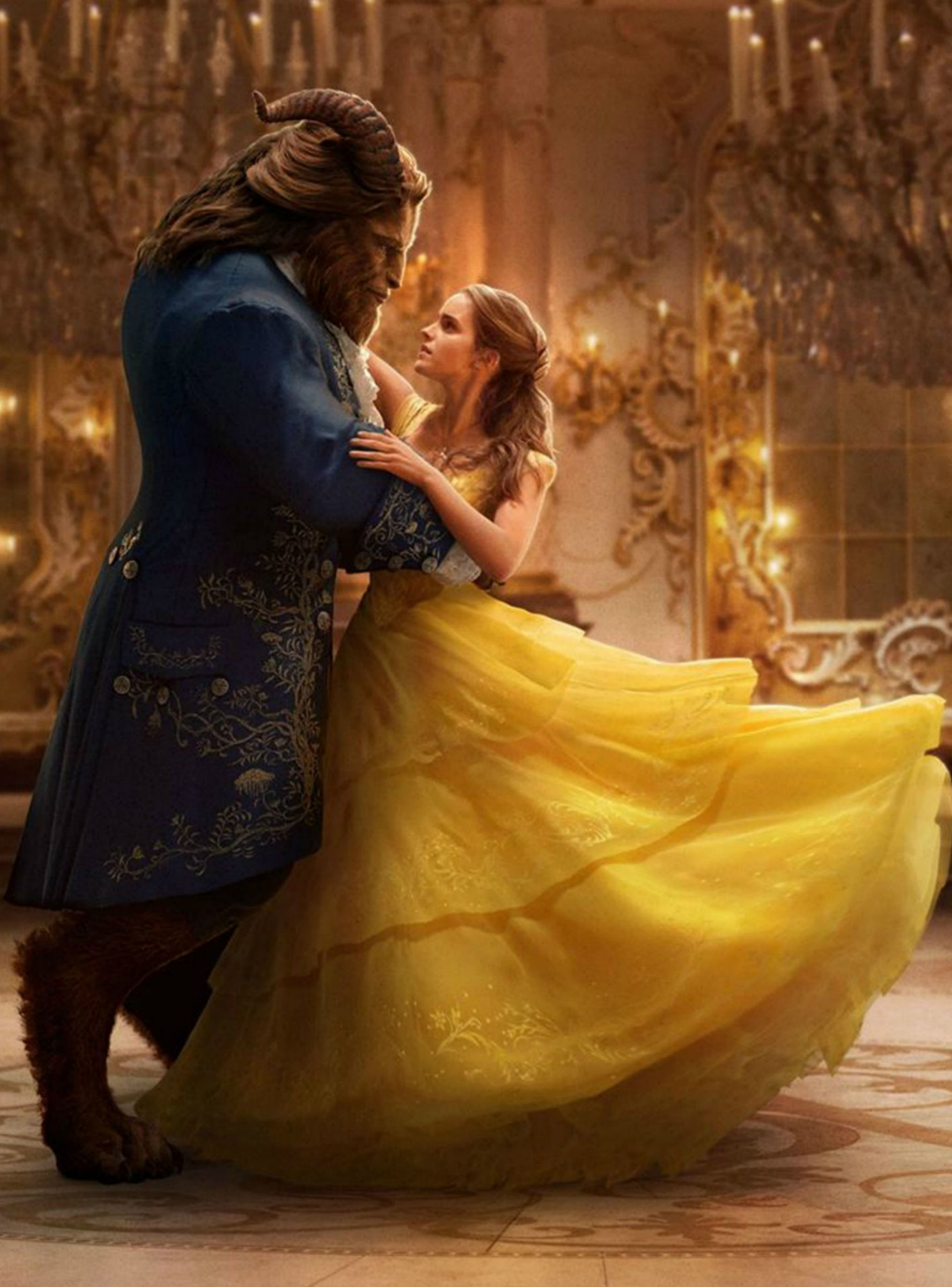 You Have To See Emma Watson In Belle S Wedding Dress Beauty The