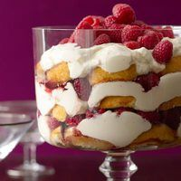 Make your #independenceday a breeze! Lemon-Berry Trifle made easy with store-bought sponge cake