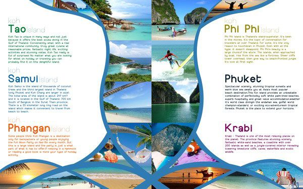 ThailandTravelBrochure  Travel Guide Design