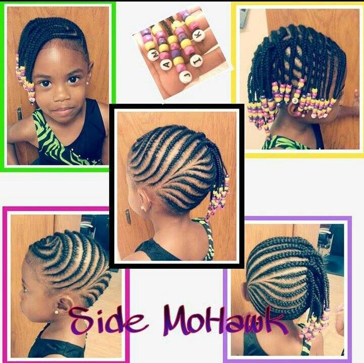 Side mohawk for toddlers