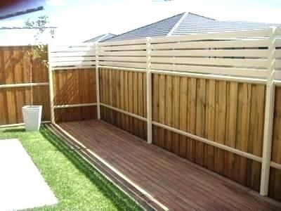 Extend Fence Height For Privacy
