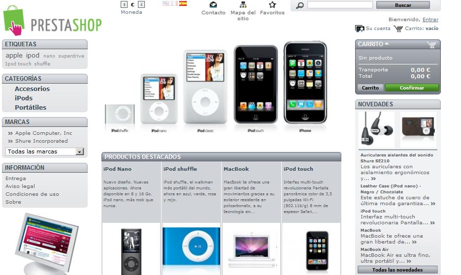 ¿Prestashop para un a tienda online?: ventajas e inconvenientes por @Increnta. Vota en: www.marketertop.com/ecommerce/%C2%BFes-prestashop-la-mejor-opcion-para-tu-tienda-online/ #ecommerce