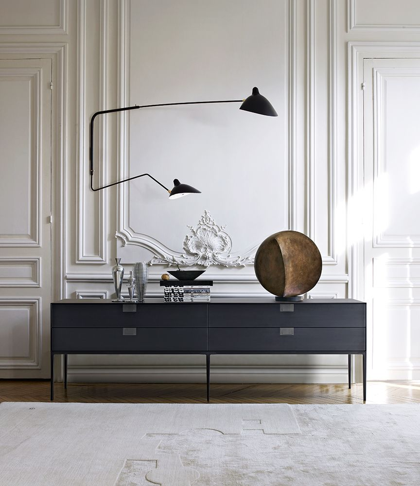 Consolle alcor collection maxalto design antonio for Classic contemporary furniture
