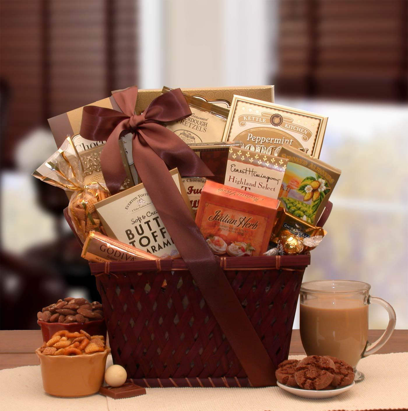 organic christmas gift baskets