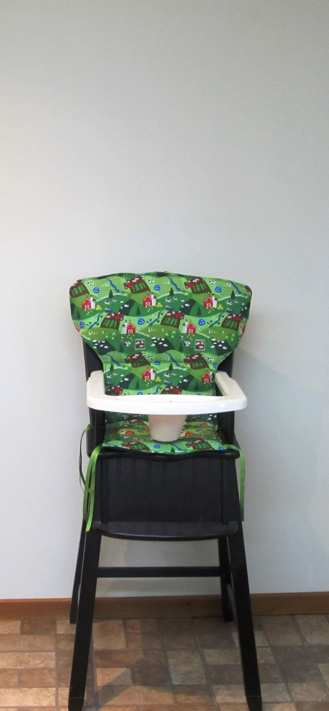 Newport style Eddie Bauer or safety 1st wood high chair