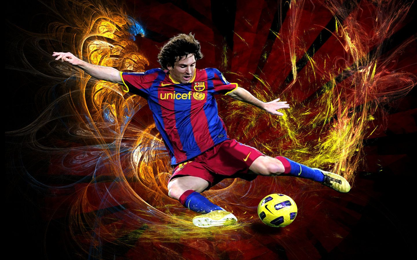 Lionel messi fc barcelona wallpaper action shot httpwww lionel messi fc barcelona wallpaper action shot httpwallpapersoccer voltagebd Image collections
