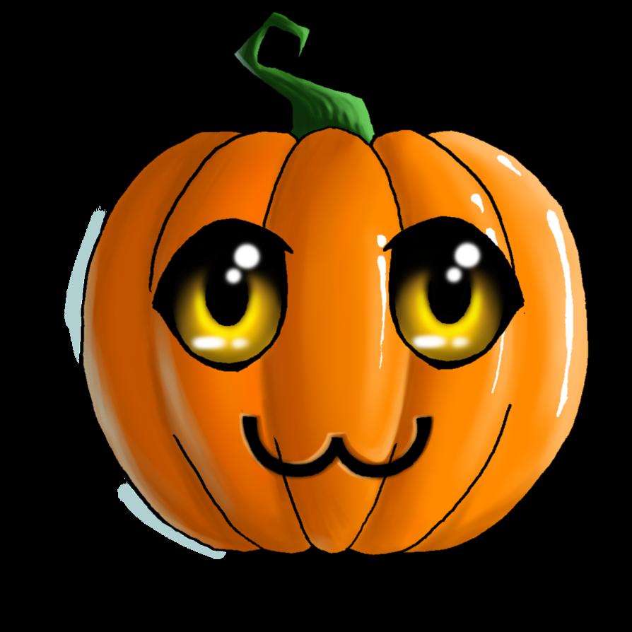 CUTE HALLOWEEN PUMPKIN, CLIP ART Halloween logo