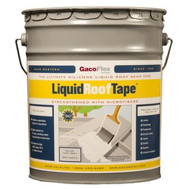 Gaco 5 Gallon Elastomeric Roof Coating Liquid Roof Foam
