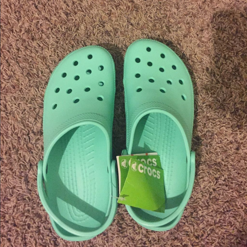 CROCS Shoes | Mint Green Crocs | Color
