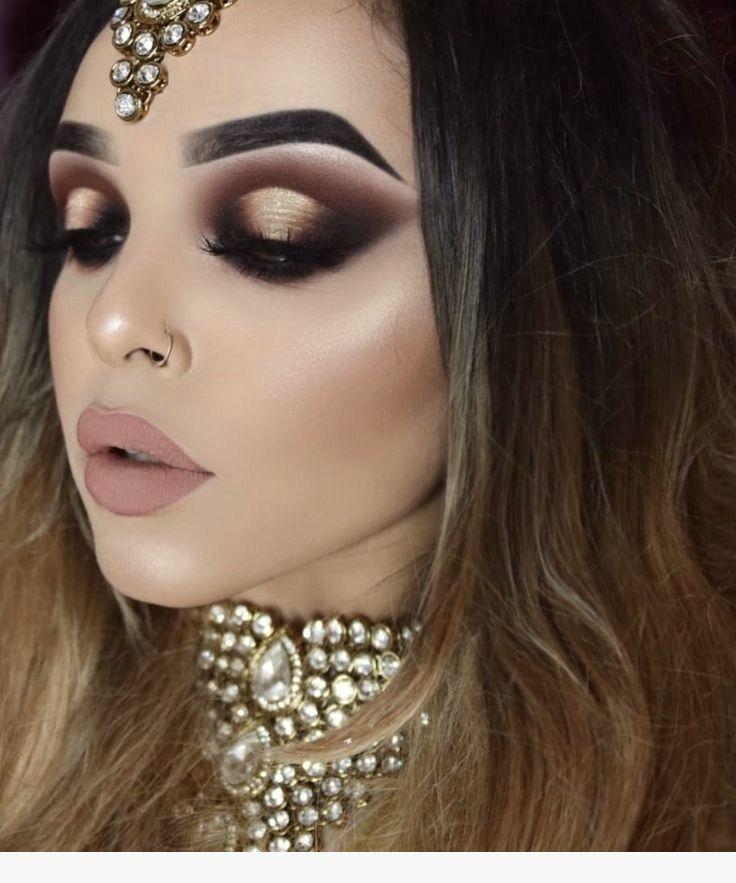 Glamorous 80 Makeup Ideas For 2019 Bridal Eye Makeup Dramatic