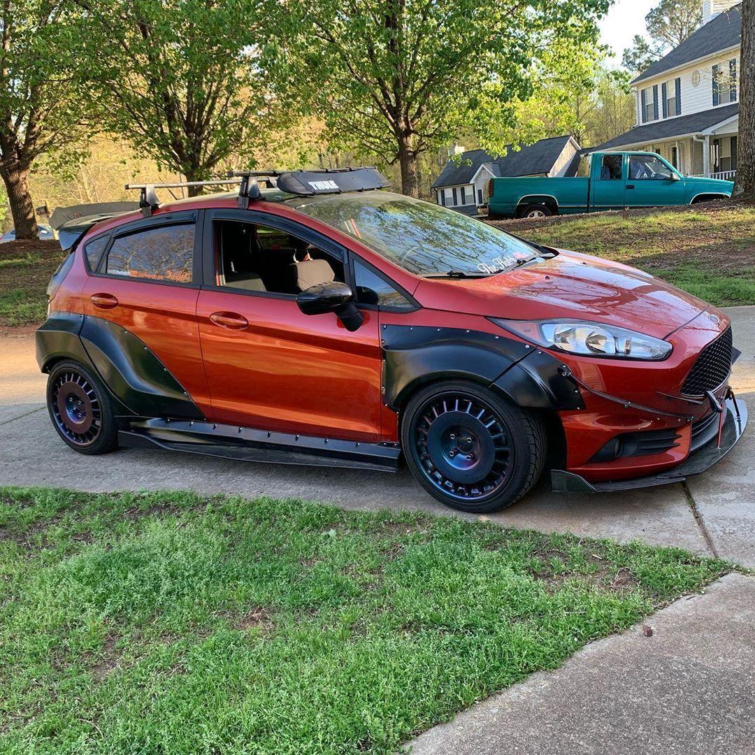 Ford Fiesta Mk7 5dr Wide Body Kit Krotov Pro In 2020 Wide Body Kits Wide Body Ford Fiesta