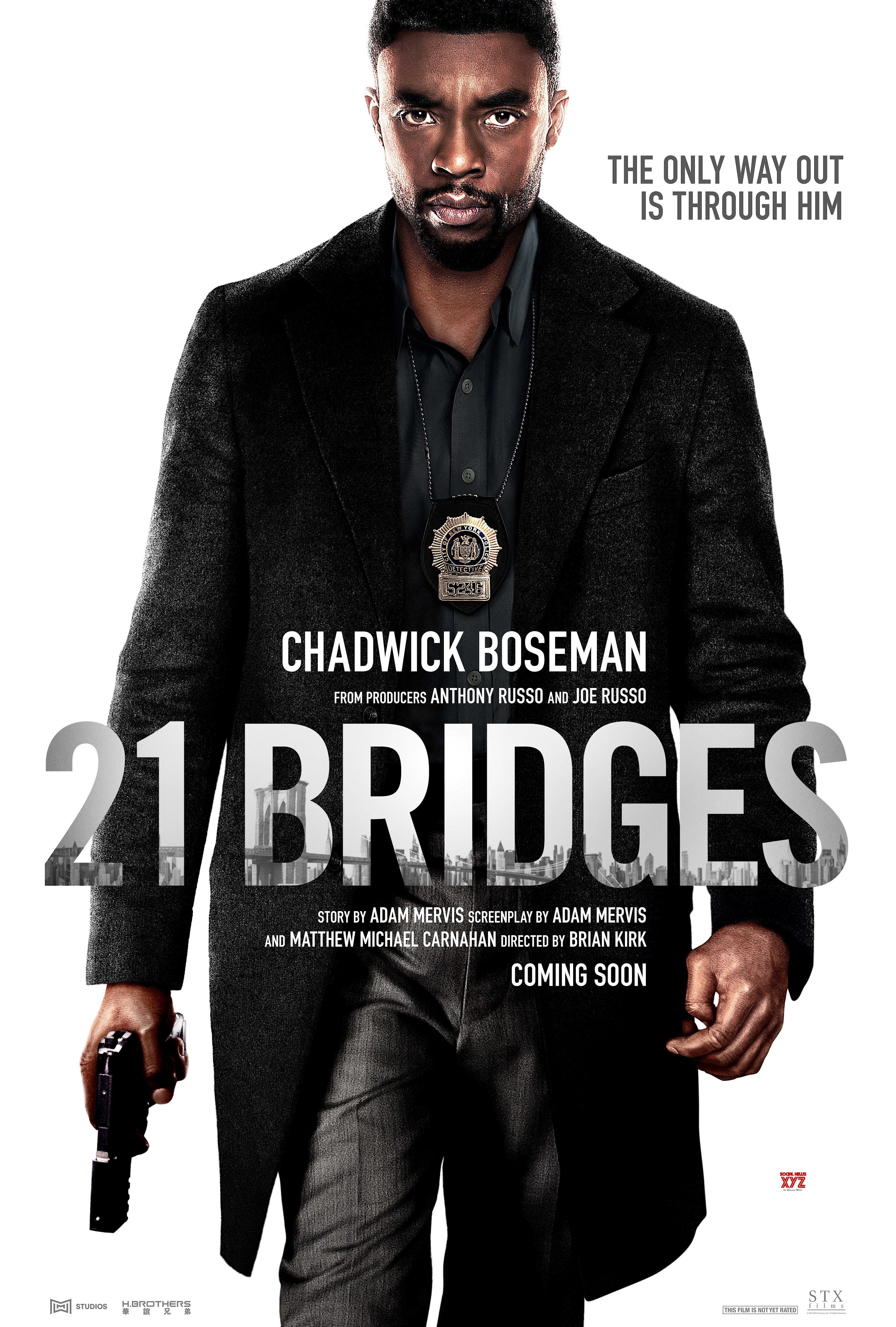 21 Bridges Movie Super HD Poster Free movies online