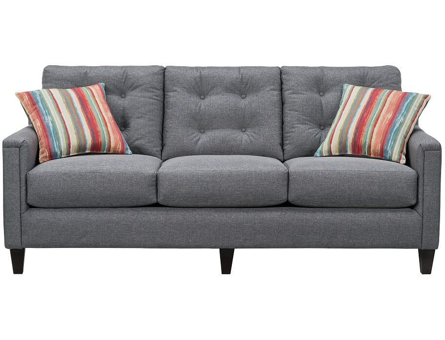 Amazing Slumberland Platte Collection Gray Sofa Gray Sofa Pabps2019 Chair Design Images Pabps2019Com
