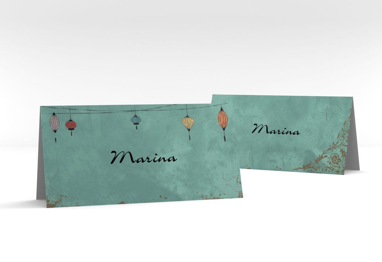 """Tischkarte Hochzeit """"Turin"""" Tischkarten"""