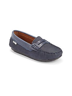 2fe9c56024c Venettini Toddler s   Boy s Leather Penny Loafers