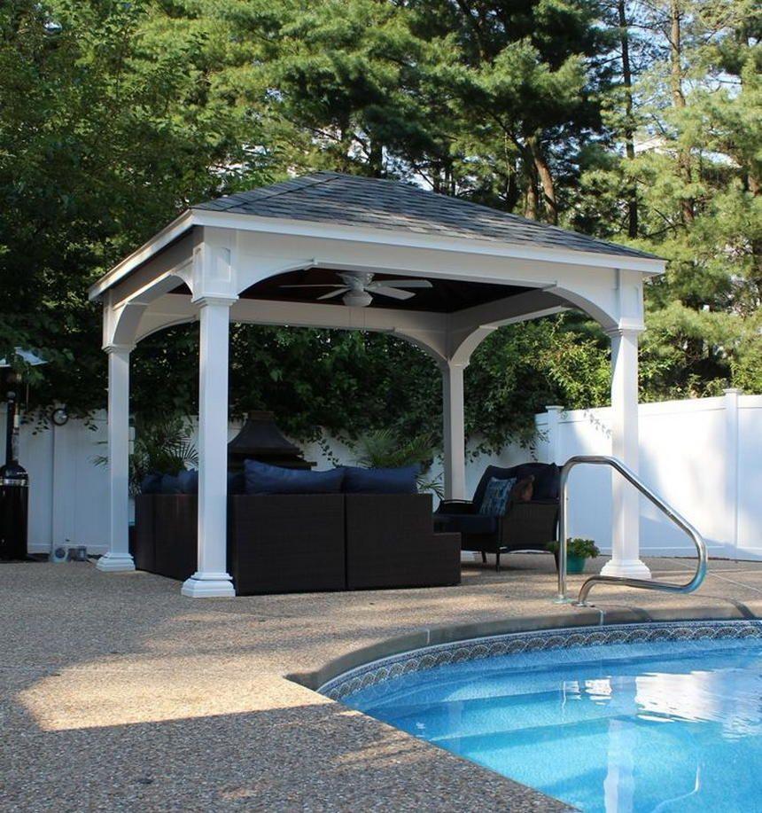 50 Gorgeous Outdoor Patio Design Ideas: Gorgeous Outdoor Design Ideas With Gazebo