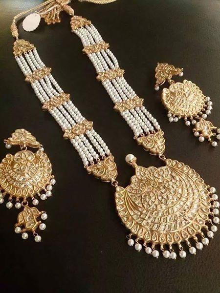 Pakistani Jewelry ☽♚ For More Follow On Insta Love Ushi
