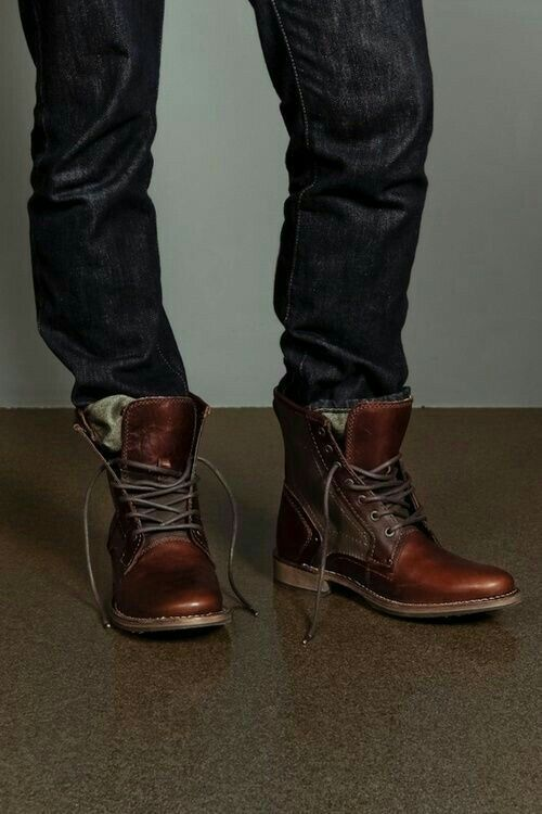 Boots #men #fashion #love #jeans #winters #cool #style