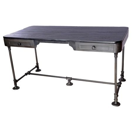 Just thinking how the Hubbs could make this desk with old desk top and easy to find plumbing (?) parts.