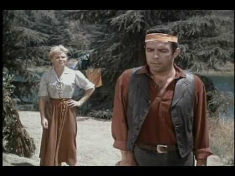 Bonanza Savage clip w/ Pernell Roberts singing the Water is Wide - YouTube