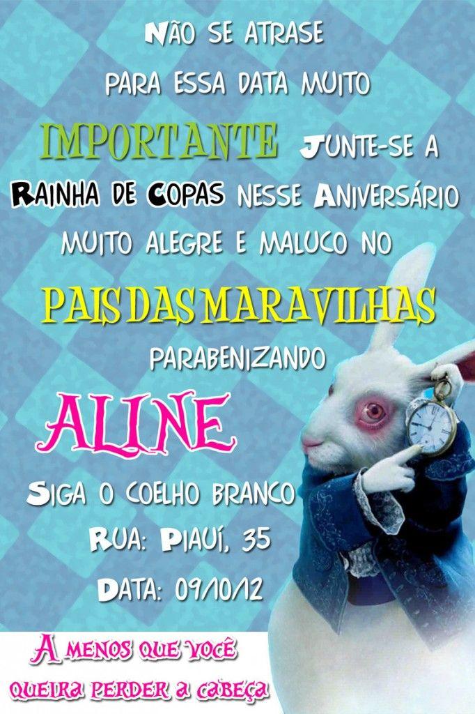 Aniversario Alice Pais Maravilhas 22 15 Anos Amanda Wonderland