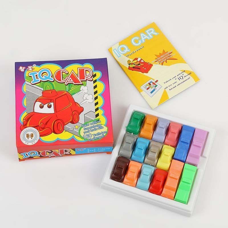 3 98 rush hour iq car traffic jam puzzle educational toy brain