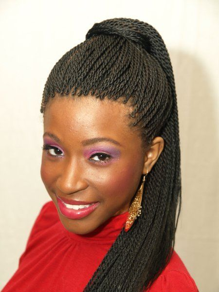 Phenomenal Braided Hairstyles Africans And Twists On Pinterest Hairstyle Inspiration Daily Dogsangcom