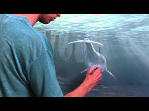 this dude is amazing How To Paint Underwater Objects ...