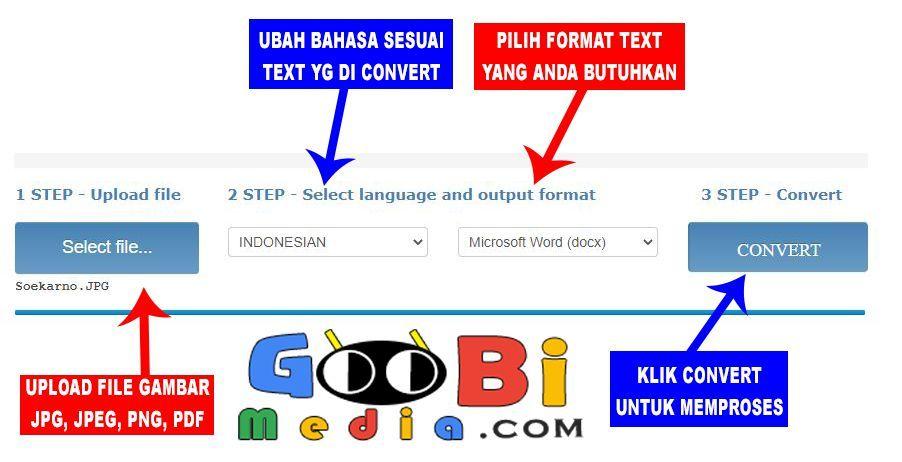 Cara Ubah Convert Jpg Ke Word Agar Bisa Di Edit Gambar Bahasa Internet