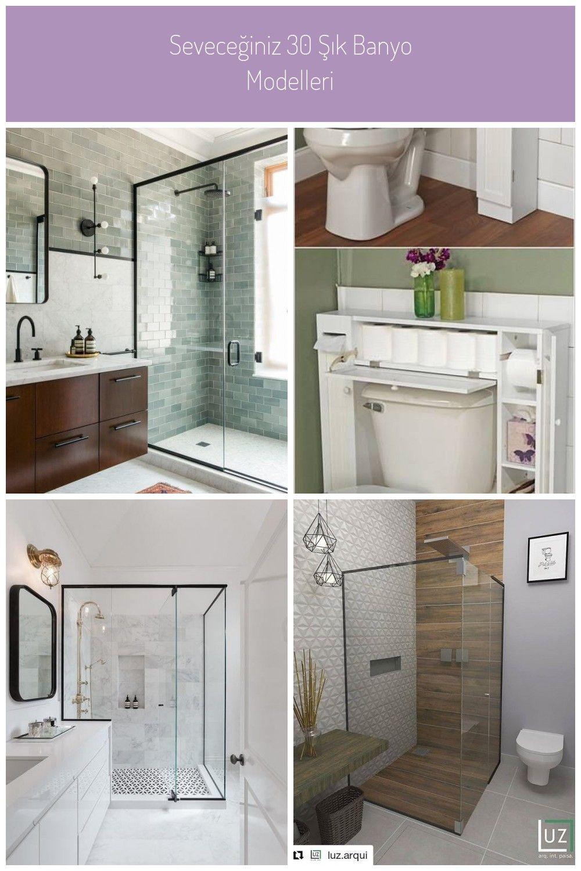 Seveceginiz 30 Sik Banyo Modelleri Badezimmer Dusche Ideen