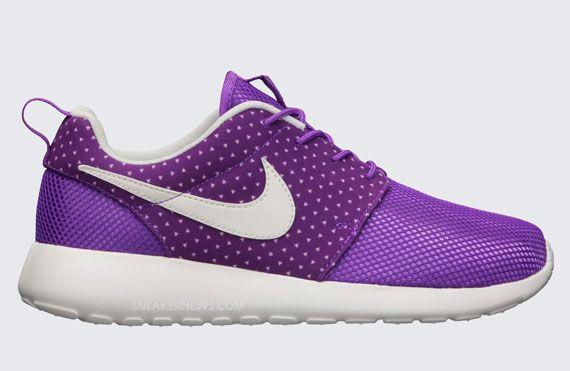 purple roshe run