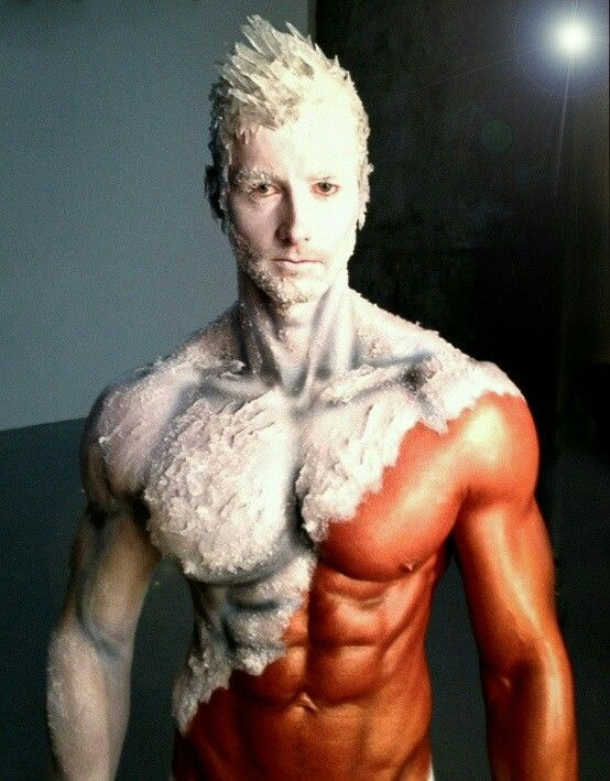Frosted Guy Body Painting Men Body Painting Body Painting Video