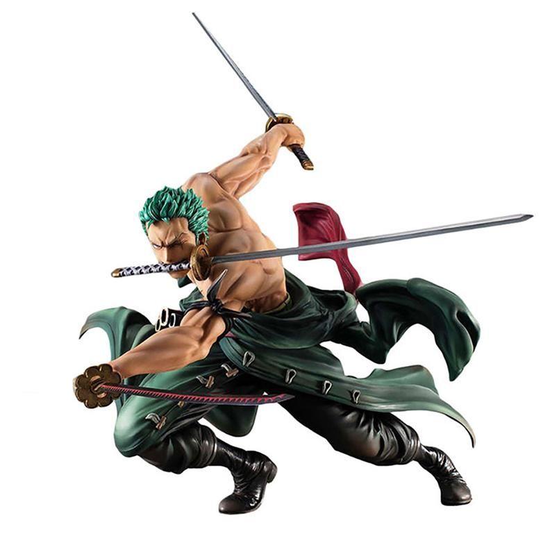 ONE PIECE Roronoa Zoro Action Figure Statua Ultragari Figuarts Zero Bandai 15
