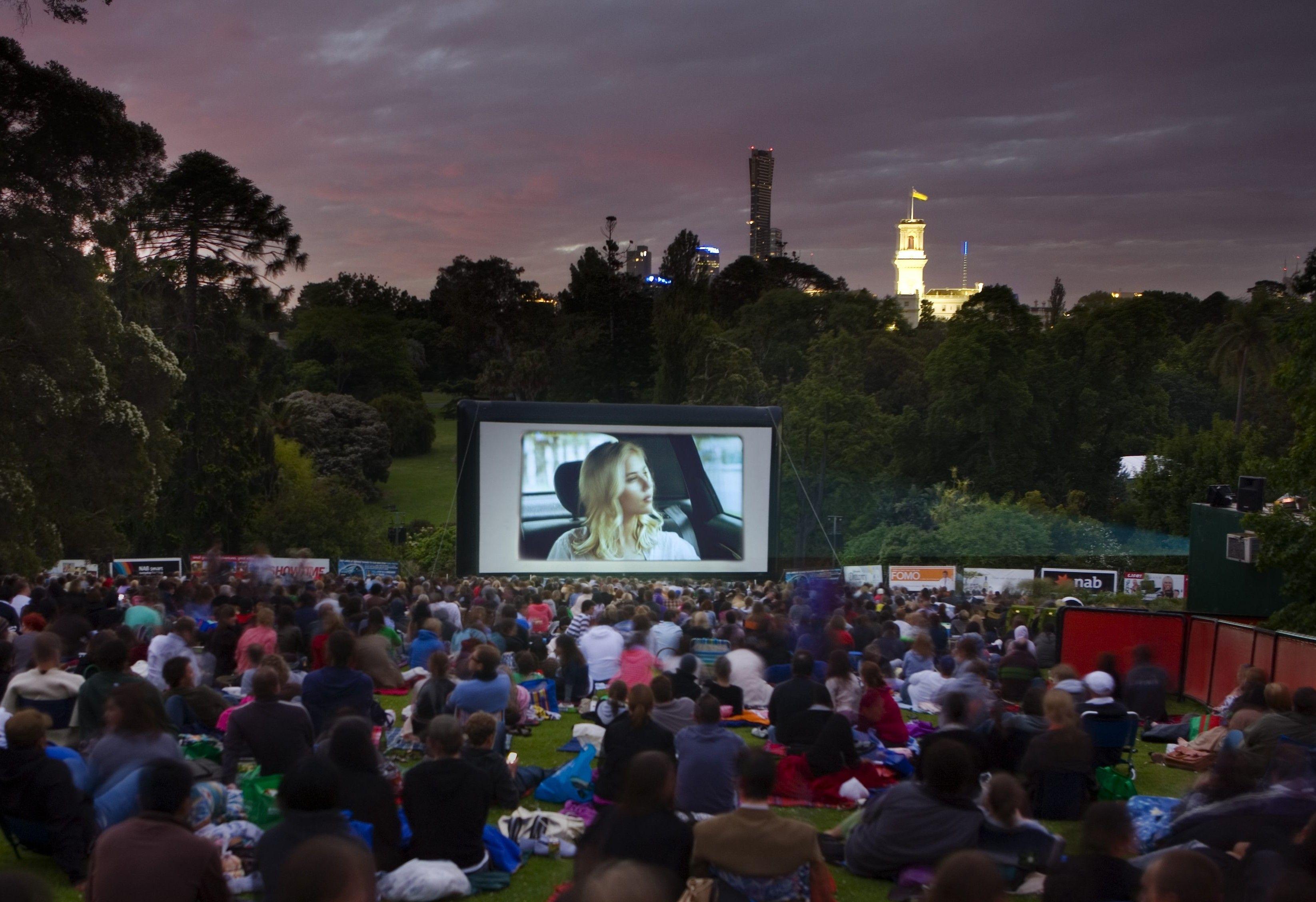Moonlight Cinema Royal Botanic Gardens Melbourne