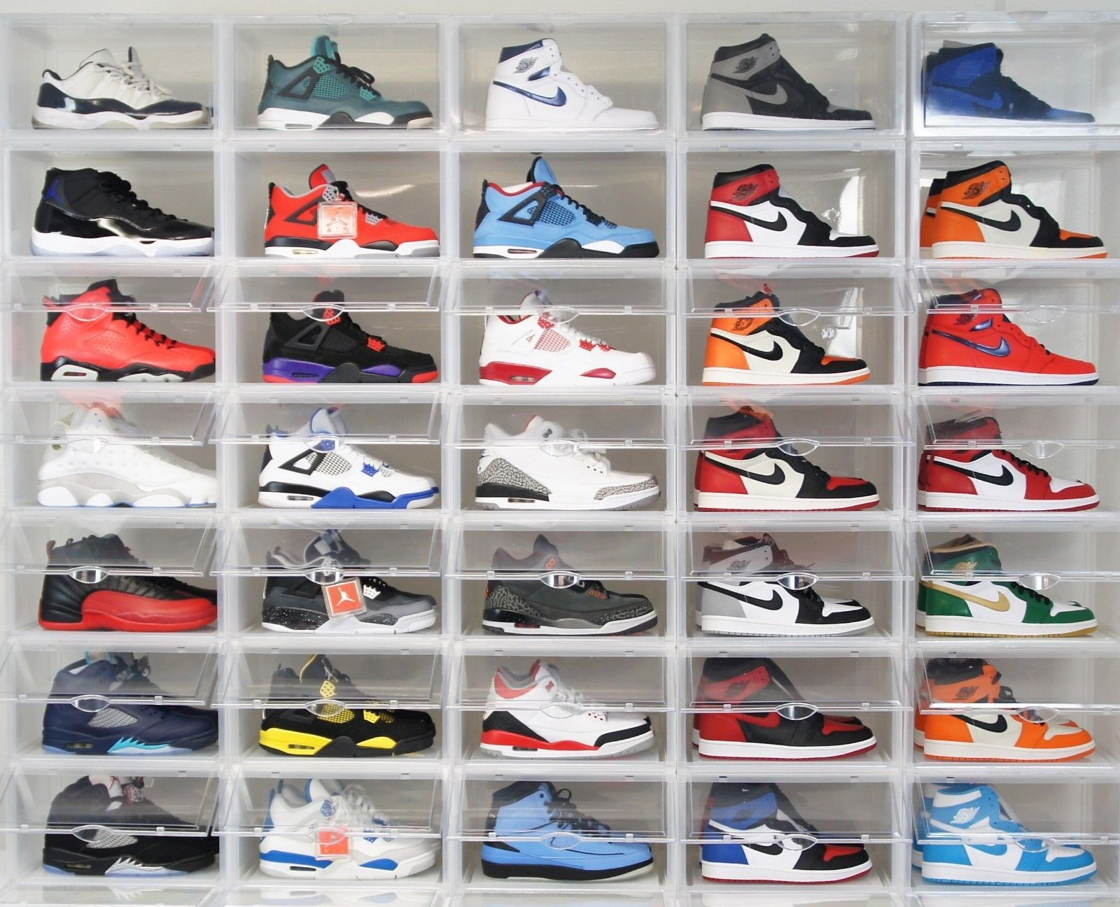 Shoe containers, Sneakers box, Sneaker rack